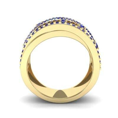 Ij508 Render 1 01 Camera3 Stone 3 Blue Sapphire 0 Floor 0 Metal 3 Yellow Gold 0 Emitter Aqua Light 0
