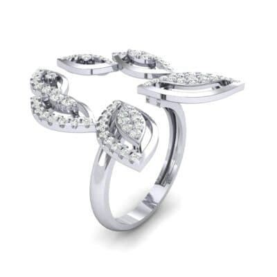 Pave Apollo Diamond Ring (0.78 CTW)