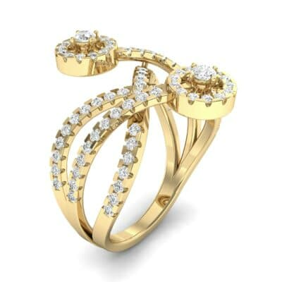 Split Band Raja Diamond Ring (0.94 CTW)