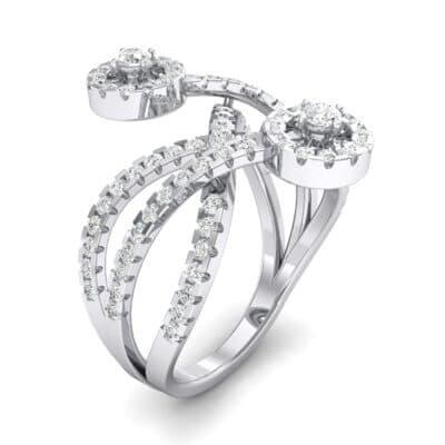 Split Band Raja Crystal Ring (0.94 CTW)