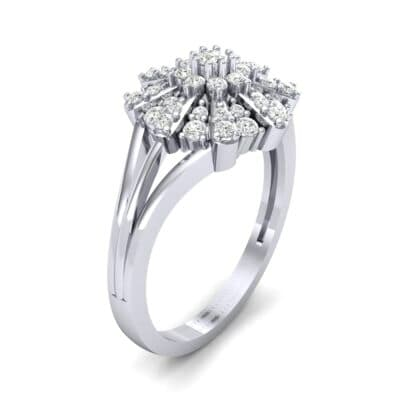 Starburst Diamond Cluster Ring (0.33 CTW) Perspective View