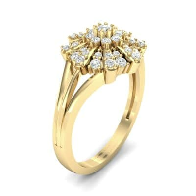 Starburst Diamond Cluster Ring (0.33 CTW)