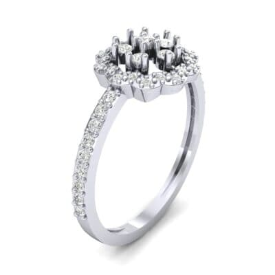 Pave Posy Diamond Ring (0.31 CTW)