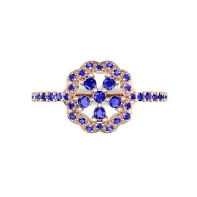 Ij557 Render 1 01 Camera4 Stone 3 Blue Sapphire 0 Floor 0 Metal 2 Rose Gold 0 Emitter Aqua Light 0