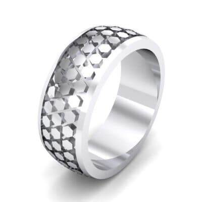 Honeycomb Relief Ring (0 CTW)