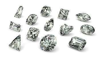 Small Diamond Shape