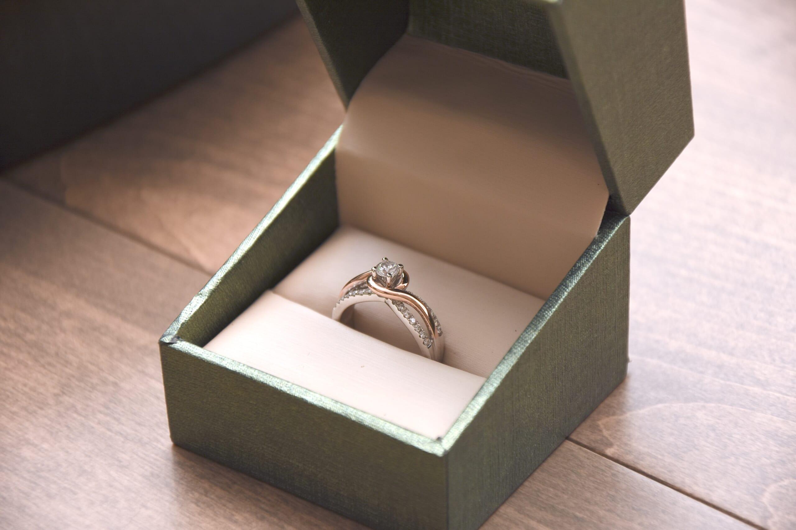 diamond ring 20 year anniversary ring for wife, wedding ring set, anniversary gift